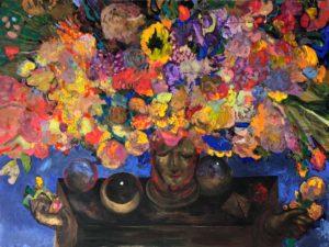 acrylic painting Dreamer I